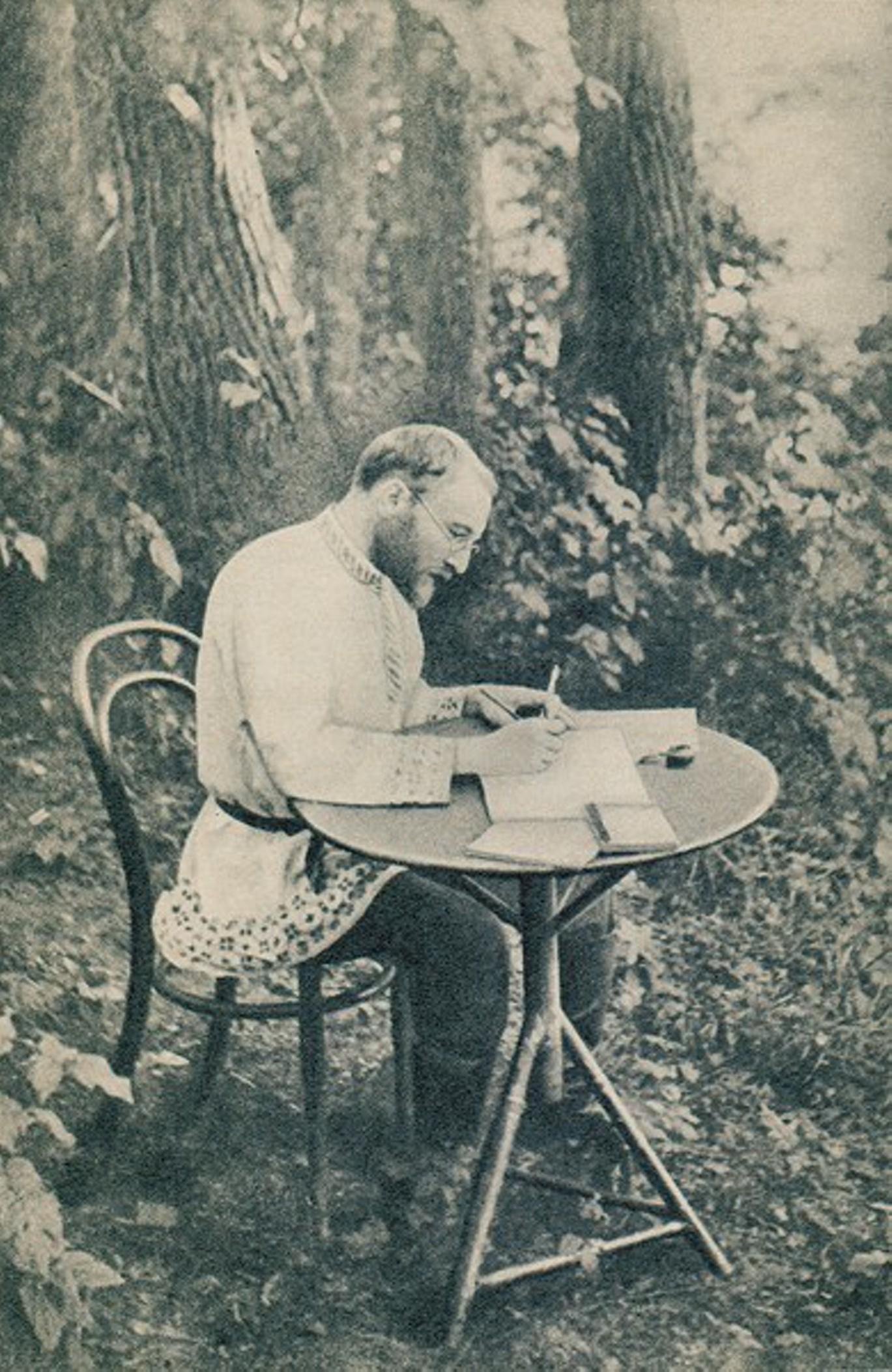 ВИКЕНТИЙ ВЕРЕСАЕВ В ТУЛЬСКОЙ ГУБЕРНИИ, 1902